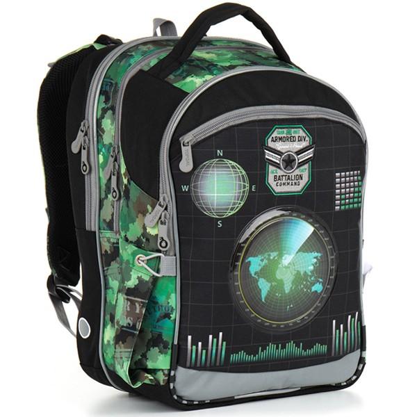 Topgal školní batoh CHI 883 E - Green