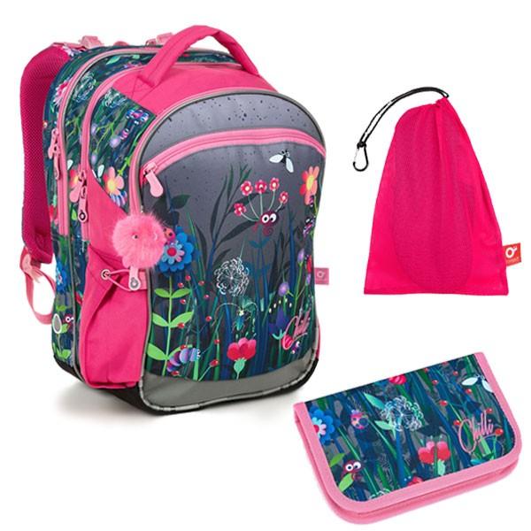 ee2e49f5722 Školní batoh Topgal COCO 19002 G SET MEDIUM a doprava zdarma