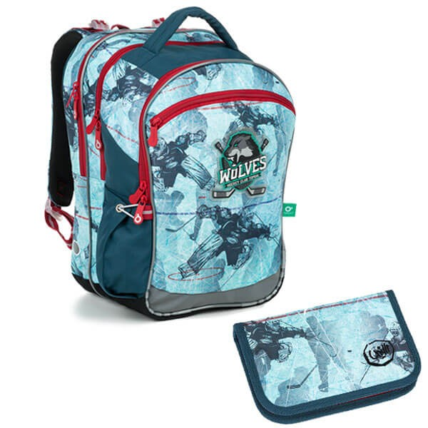 Školní batoh Topgal COCO 19012 B SET SMALL a doprava zdarma 1aa296f56c