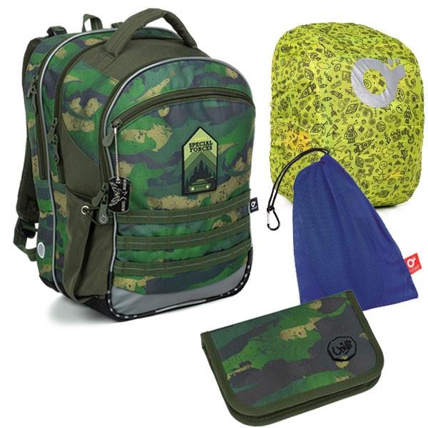 Školní batoh Topgal COCO 19015 B SET LARGE + doprava ZDARMA