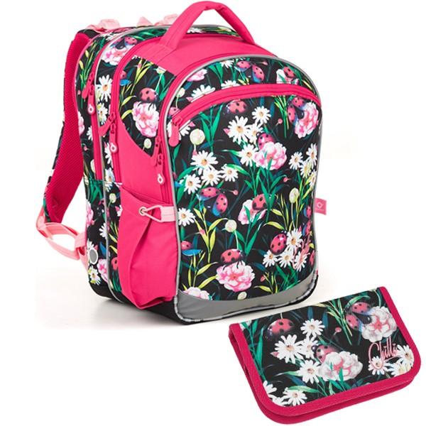 Školní batoh Topgal COCO 18004 G SET SMALL