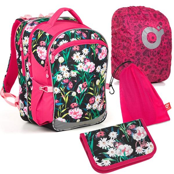 Školní batoh Topgal COCO 18004 G SET LARGE