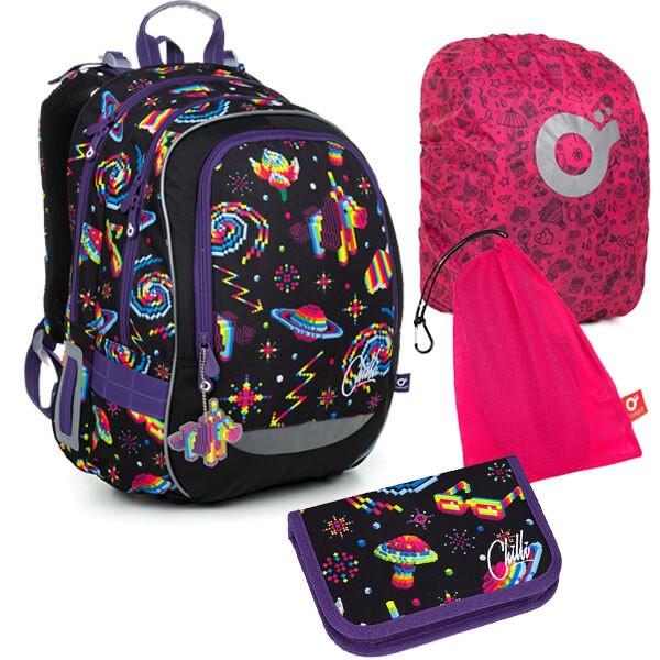 Školní batoh Topgal CODA 19006 G SET LARGE + doprava zdarma