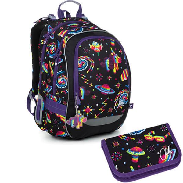 Školní batoh Topgal CODA 19006 G SET SMALL + doprava zdarma