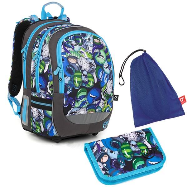 Školní batoh Topgal CODA18048 B SET MEDIUM a doprava zdarma