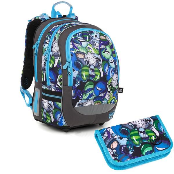 Školní batoh Topgal CODA18048 B SET SMALL a doprava zdarma