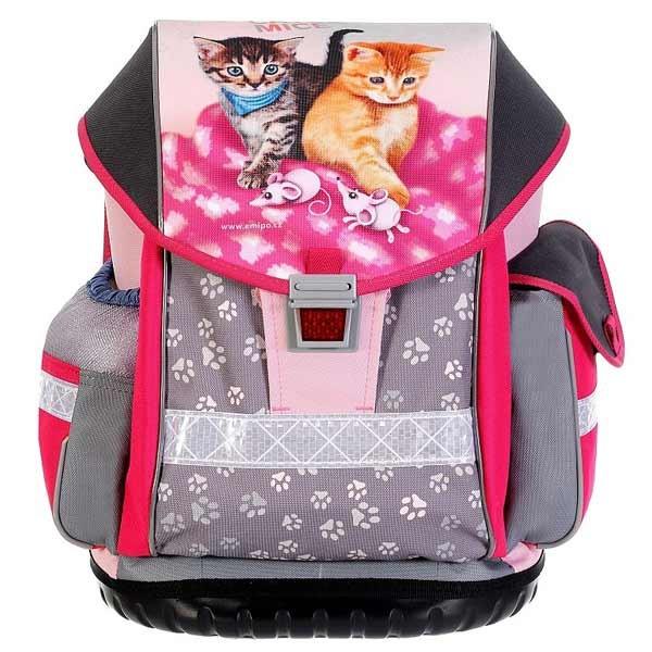 Školní batoh Emipo Ergo Two Cats   Mice 87849cc866