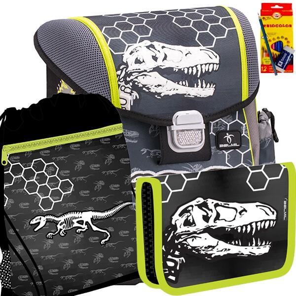 d68a0e81585 Školní batoh BELMIL 403-13 Dinosaur World - SET + potřeby Koh-i-