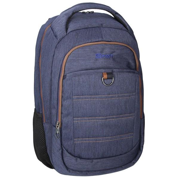 Spirit batoh denim 01 modrá dvoukomorový studentský batoh 3c6e12f408
