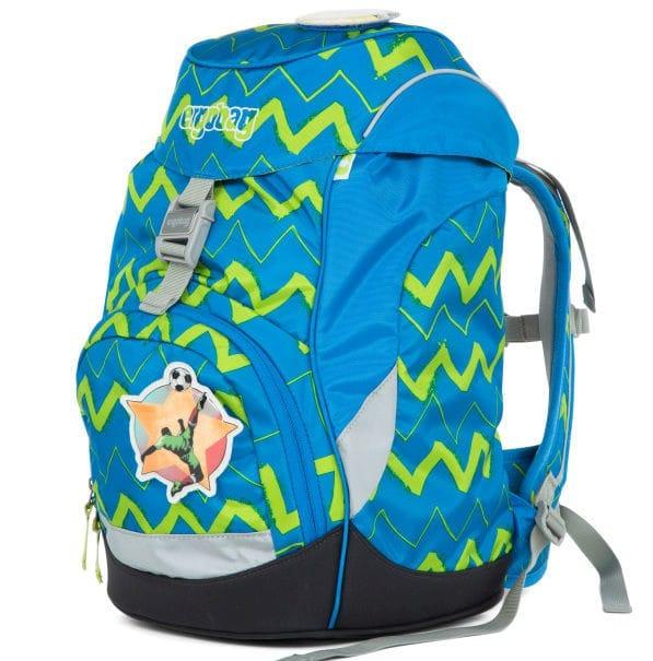Školní batoh Ergobag prime modrý Zig Zag af5b3e3cf3