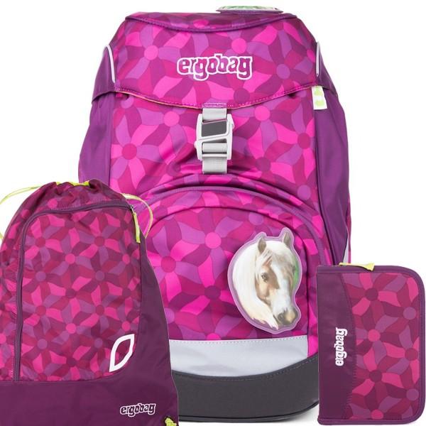Školní batoh Ergobag prime fialový SET a doprava zdarma