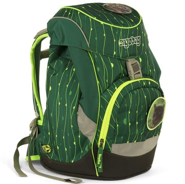 Školní batoh Ergobag prime Fluo zelený a doprava zdarma