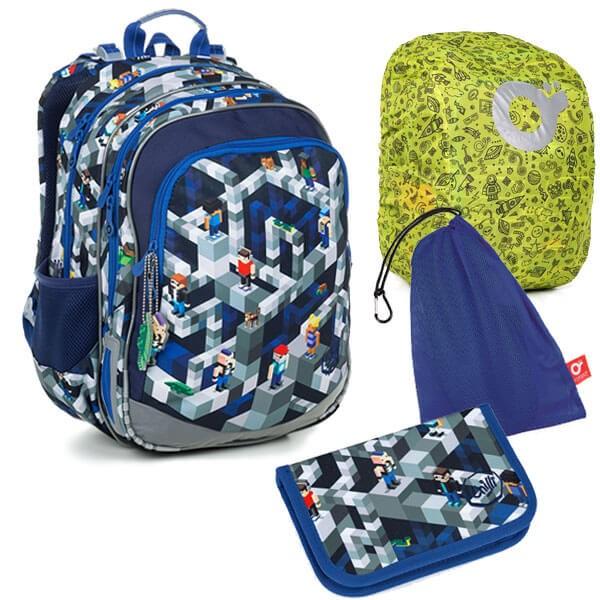 Školní batoh Topgal ELLY 19014 B SET LARGE a doprava zdarma 8395a17775