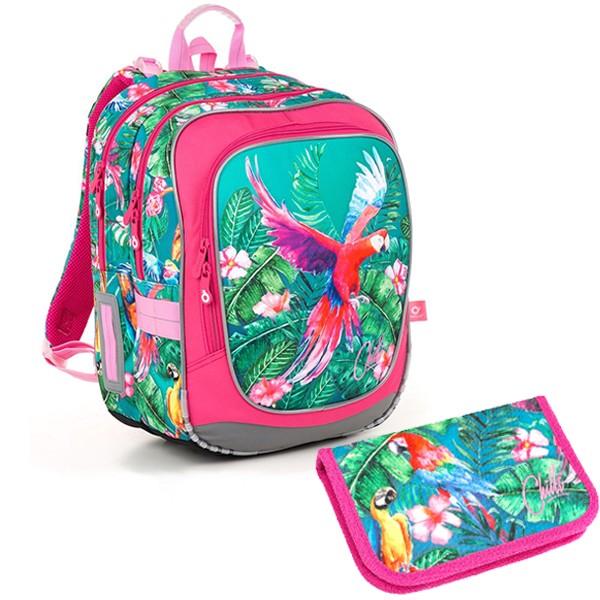 Školní batoh Topgal ENDY 18001 G SET SMALL a doprava zdarma ebc64a4517