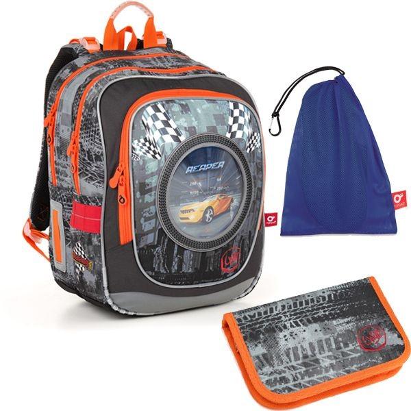 Školní batoh TOPGAL ENDY 18018 B SET MEDIUM