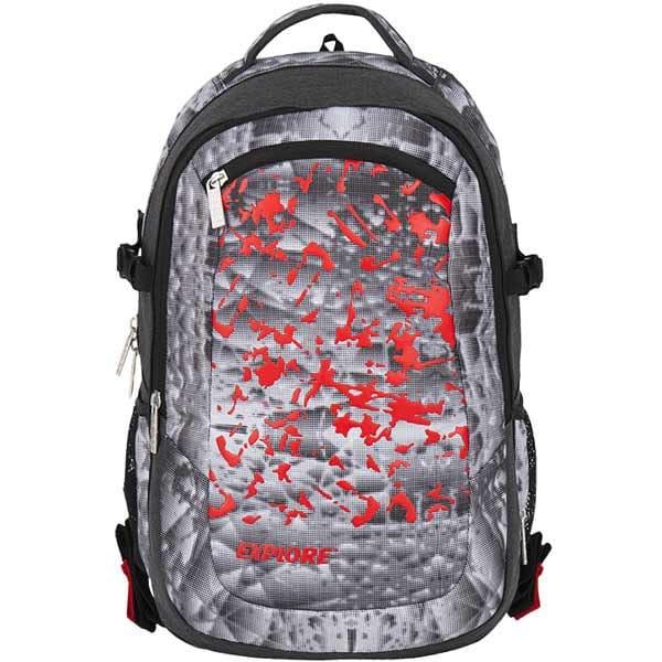 adf6947992c Školní batoh EXPLORE VIKI B34 2 v 1 červený