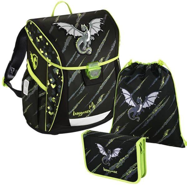 Školní batoh Baggymax Fabby Drak SET