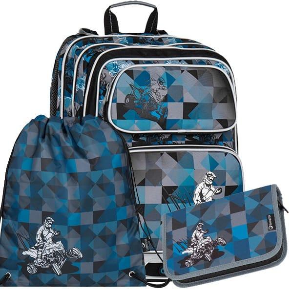 Školní batoh Bagmaster GALAXY 7 F set + doprava zdarma  c5fa617002