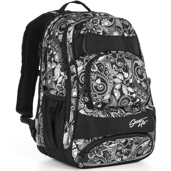 Topgal studentský batoh HIT 894 A - Black