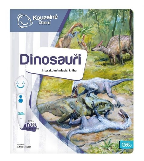 Albi Kouzelné čtení Kniha Dinosauři Interaktivní hračky