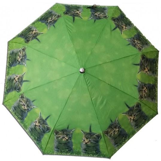 Deštník Kočka skládací