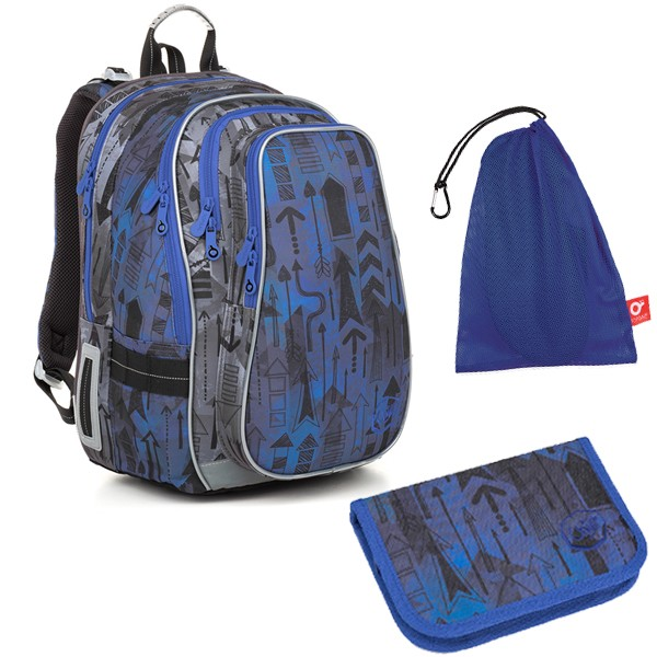 Školní batoh Topgal LYNN 18005 B SET MEDIUM a doprava zdarma dc7d8c4e75