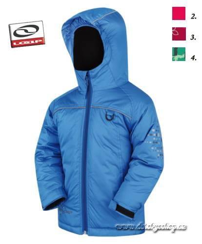 Dětská zimní bunda LOAP ORUST modrá 6ac81e5277