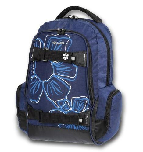 4b9f57d0bb2 Školní batoh Walker Flower modrá