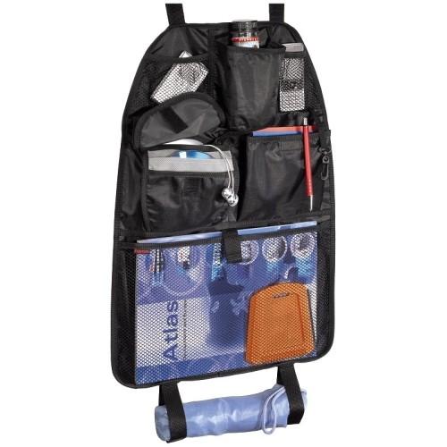 Chránič sedadla (organizér) do auta s kapsou pro CD přehrávač