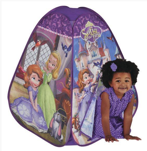 Blackfire ADC Disney Stan Sofie První barevný dětský stan na hraní