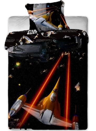 Jerry Fabrics Povlečení Star Wars spaceships bavlna 140x200 70x90