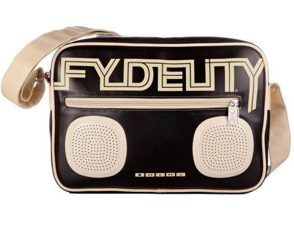 Taška přes rameno Fydelity JAMBOX Black