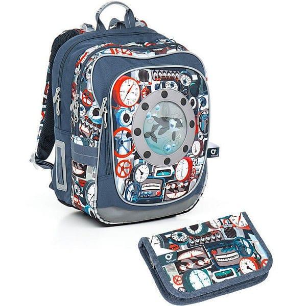 Topgal Sada pro školáka CHI 791 Q SET SMALL batoh pouzdro