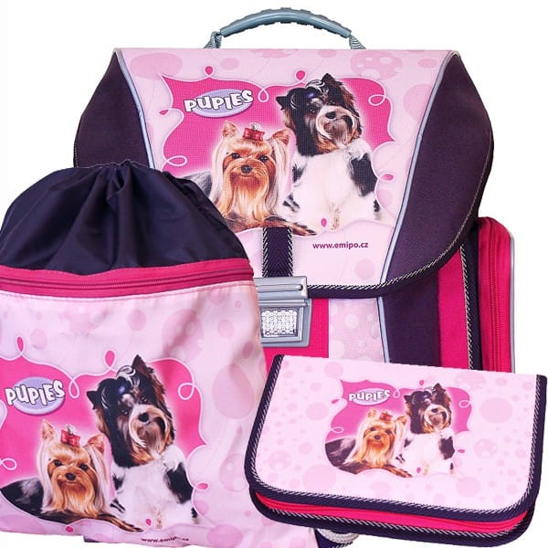 Školní batoh Emipo Pupies 3dílný set b4c54500f7