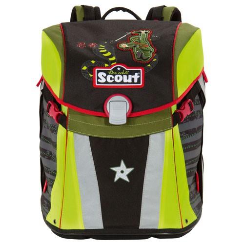 Školní batoh Scout Sunny Ninja a had