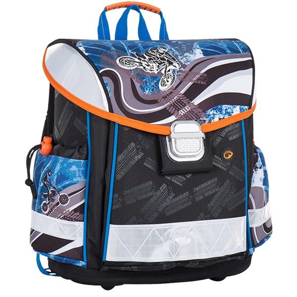 34d9ca32750 Bagmaster školní aktovka pro prvňáčky LIM 7 C BLACK BLUE GREY