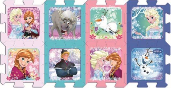 TREFL Pěnové puzzle Ledové království