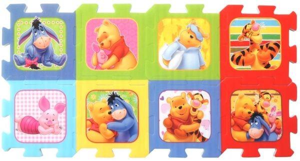 TREFL Pěnové puzzle Medvídek Pú