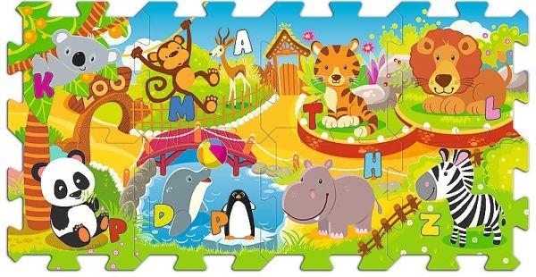 TREFL Pěnové puzzle ZOO