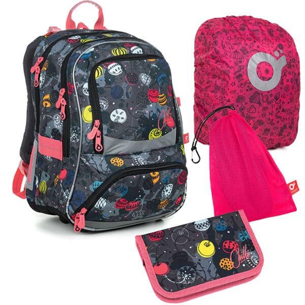 Školní batoh Topgal NIKI 19007 G SET LARGE a doprava zdarma a104a95852