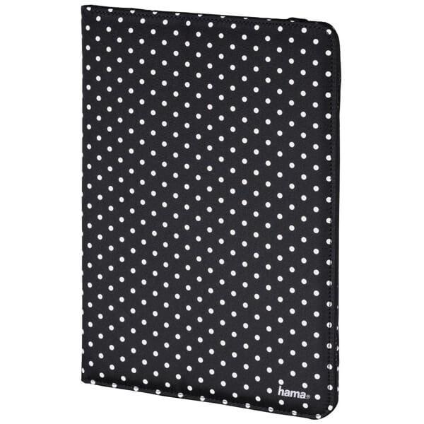 """Hama Polka Dot pouzdro na tablet, do 20,3 cm (8""""), černé"""