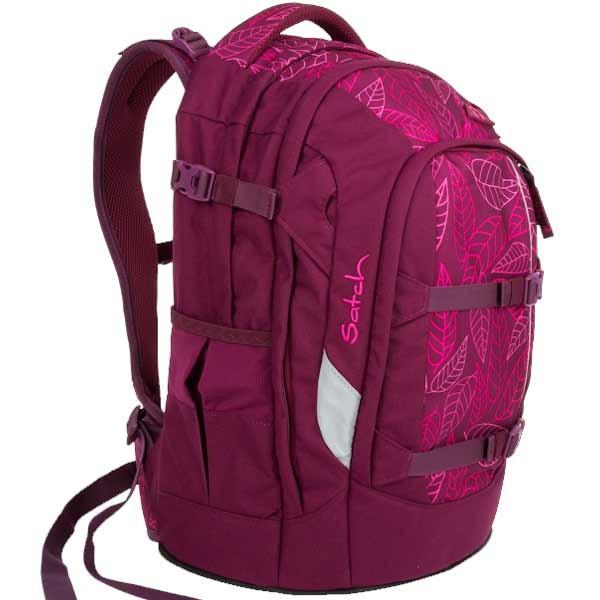 Školní batoh Satch Purple Leaves 07f989e8d2