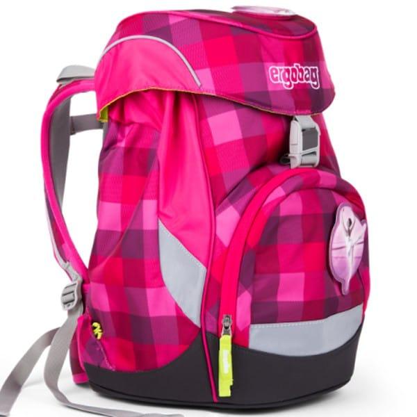 Školní batoh Ergobag prime purpurový károvaný 9f80d498a8