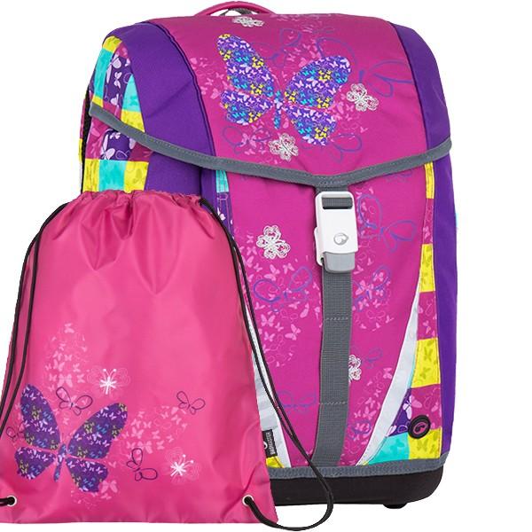 Školní batoh pro prvňáčky Bagmaster POLO 7 A set