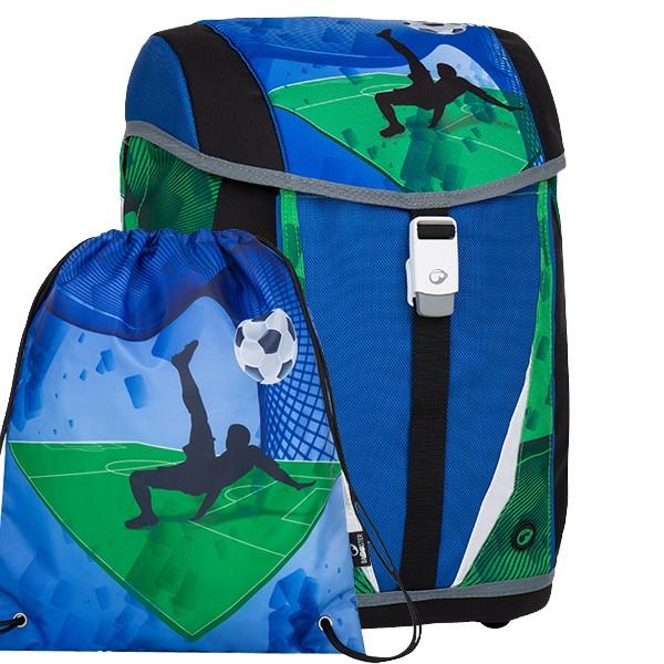 Školní batoh pro prvňáčky Bagmaster POLO 7 B set