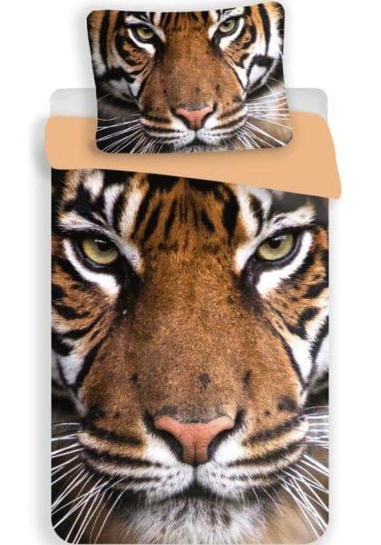 Jerry Fabrics Povlečení Tygr 2016 bavlna 140x200 70x90