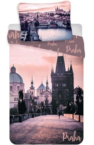 """Povlečení fototisk Praha """"Romantique"""""""