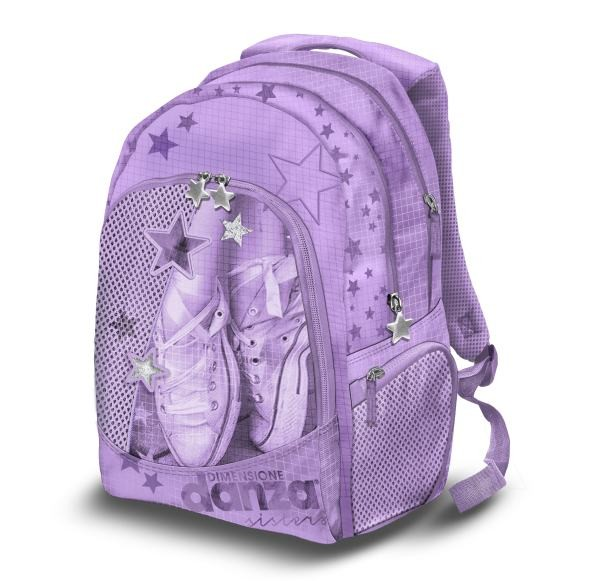 Školní batoh Danza fialový
