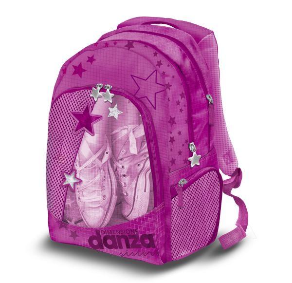 Školní batoh Danza růžový