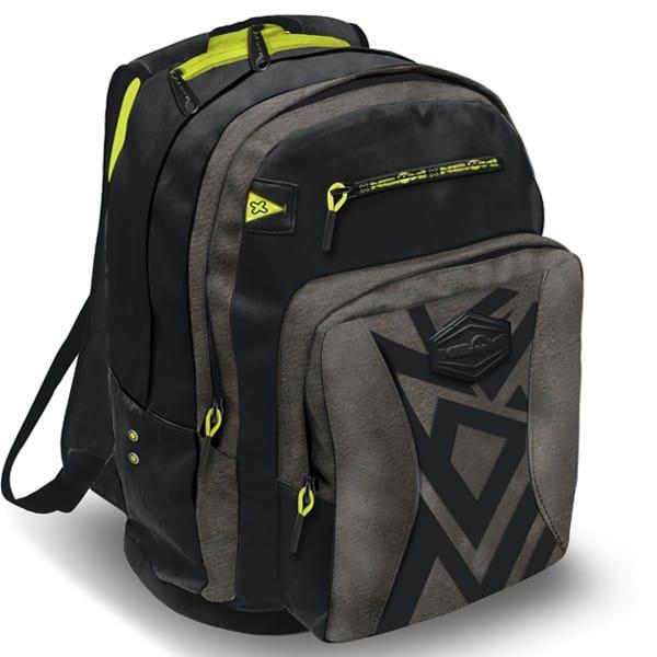 Školní batoh NEON s výsuvnými kolečky černý 219afc1d56